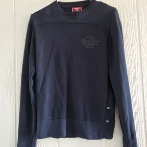 Jack and Jones vintage black crew neck sweater M